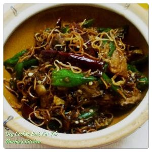 Dry Cooked Bak Kut Teh