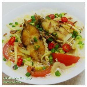 Fish Meat Bee Hoon Soup