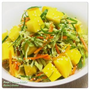 Mango & Sesame Coleslaw