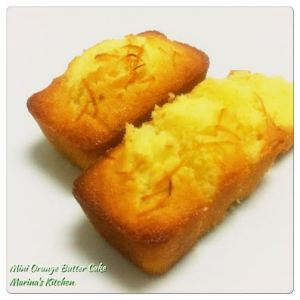 Mini Orange Butter Cake
