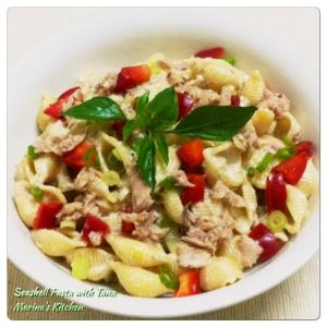 Seashell Pasta with Tuna
