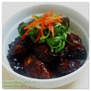 Simmered Pork Soft Bones
