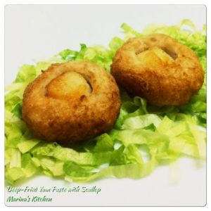 Deep-Fried Yam Paste with Scallop