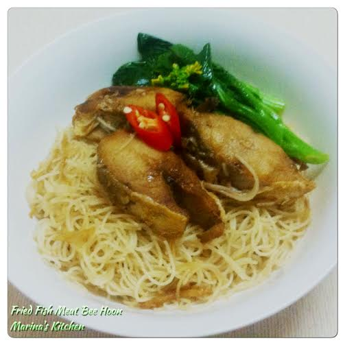 Fried Fish Meat Bee Hoon