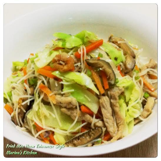 Fried Mee Hoon Taiwanese Style
