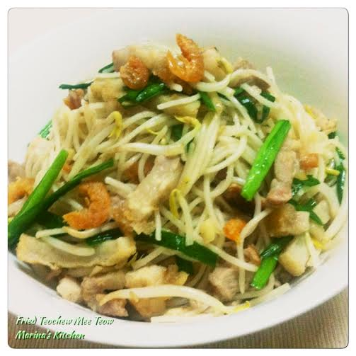 Fried Teochew Mee Teow