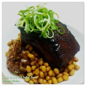 Hakka Braised Pork Belly & Peanut