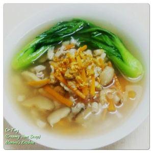 Or T'ng (Creamy Yam Soup)