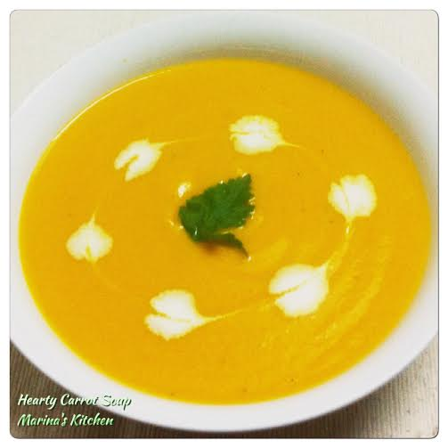 Hearty Carrot Soup