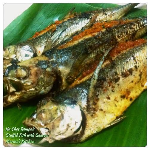 Hu Chee Rempah (Stuffed Fish with Sambal)