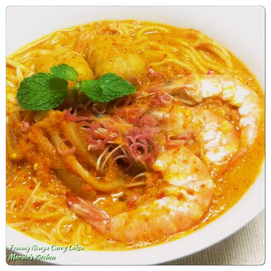 Penang Nonya Curry Laksa