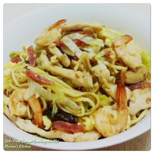 Stir-Fried Sungai Lembing Noodles