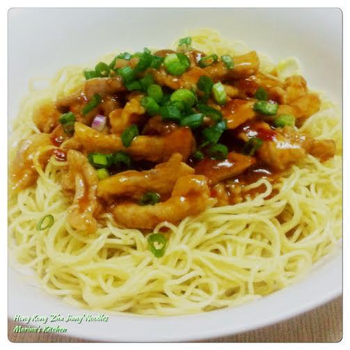 Hong Kong 'Zha Jiang' Noodles