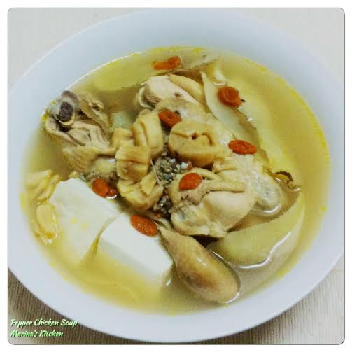 Pepper Chicken Soup
