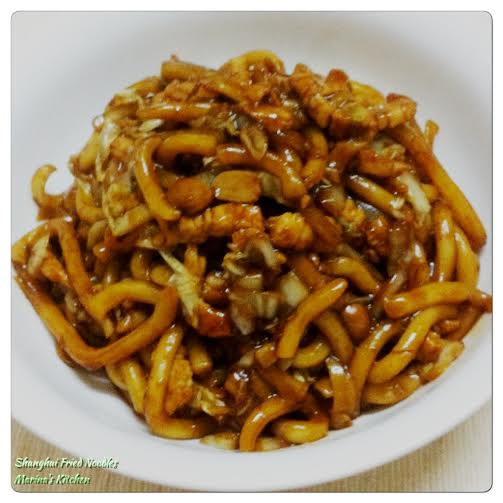 Shanghai Fried Noodles