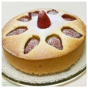 Strawberry Pastry Cake