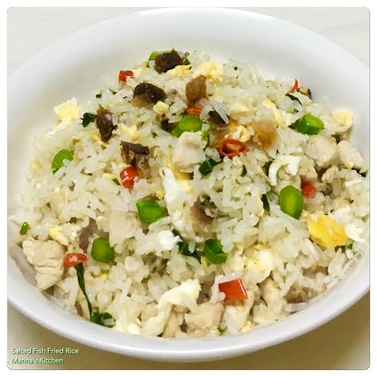 Salted Fish Fried Rice 1