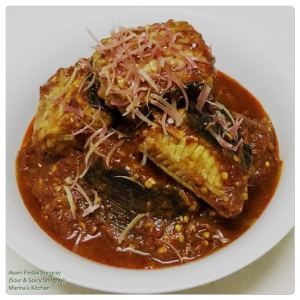 Asam Pedas Stingray (Sour & Spicy Stingray)