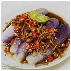 Brinjal Kukus (Nyonya Steamed Eggplant)