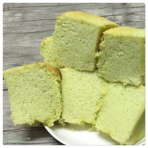 Pandan Chiffon Cake 1