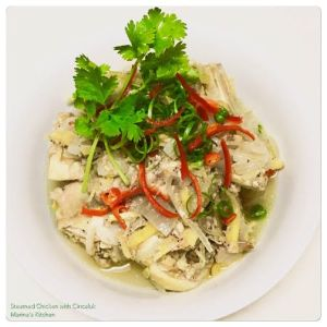 Steamed Chicken with Cincaluk