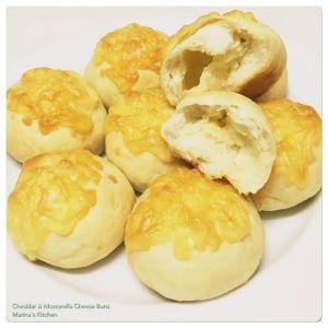 Cheddar & Mozzarella Cheese Buns