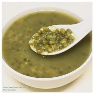 Green Bean Sweet Soup with Sago