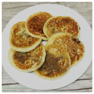 Hotteok (Salted Caramel Korean Pancakes)