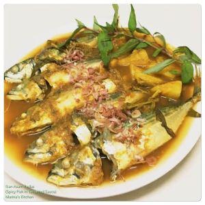 Ikan Asam Pedas (Spicy Fish in Tamarind Sauce)