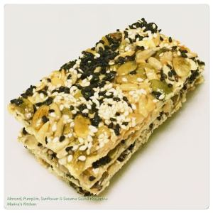 Almond, Pumpkin, Sunflower & Sesame Seeds Florentine