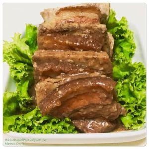 Hakka Braised Pork Belly with Yam
