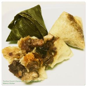 Teochew Sweet & Savoury Glutinous Rice Dumplings