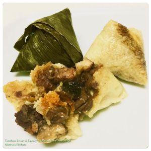 Teochew Sweet & Savoury Glutinous Rice Dumplings