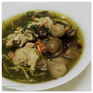 Watercress & Pork Ribs Soup