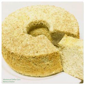 Wholemeal Chiffon Cake 1