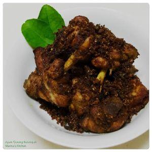 Ayam Goreng Berempah 1