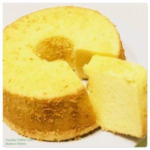Cheddar Chiffon Cake