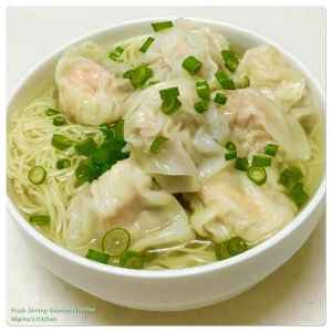 Fresh Shrimp Wonton Noodles