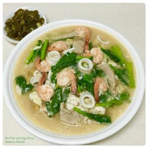 Hor Fun with Egg Gravy