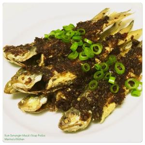 Ikan Senangin Masak Kicap Pedas