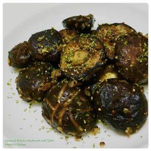 Sauteed Shiitake Mushroom with Garlic