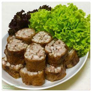 Nyonya Taro Pork Roll
