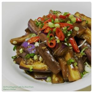 Stir-Fried Eggplant with Soy Bean Paste
