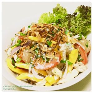 chicken-jackfruit-salad-with-pomelo