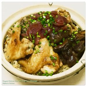 Claypot Chicken Rice 2