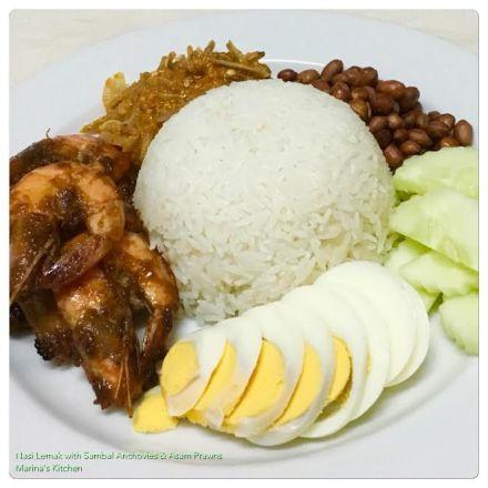 https://marinaohkitchen.wordpress.com/2016/09/25/nasi-lemak-with-sambal-anchovies-asam-prawns/