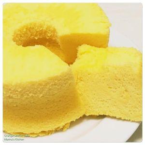 Orange Chiffon Cake 1