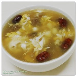 egg-soup-with-lotus-seed-red-date
