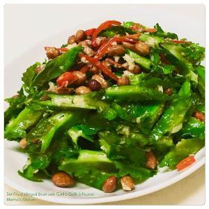 stir-fried-winged-bean-with-garlic-chilli-peanut