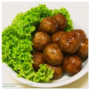 sweet-sour-meatballs-with-lotus-root